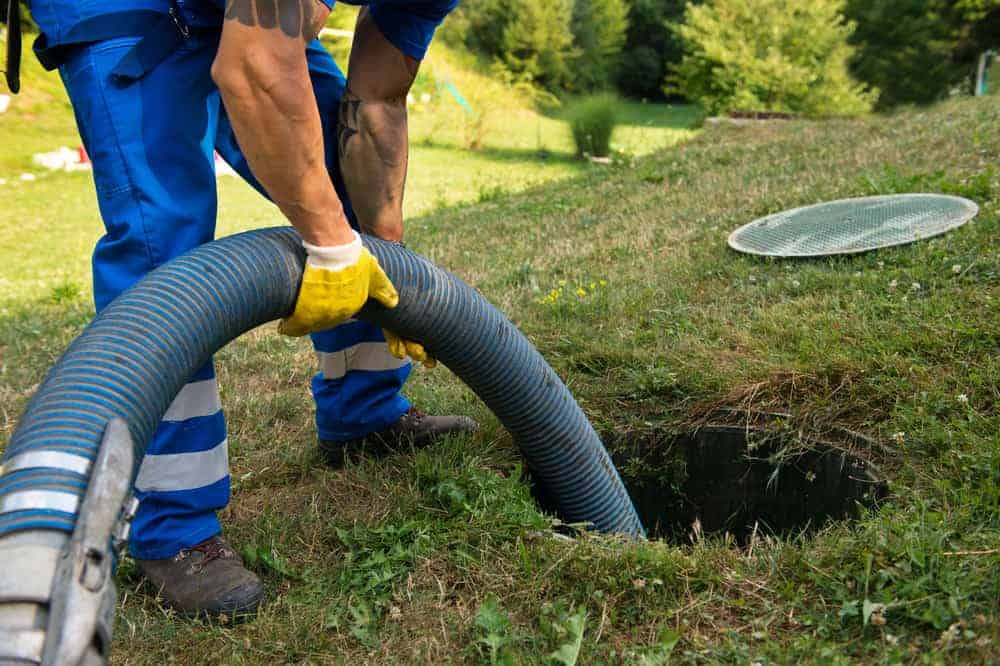 underground cesspool